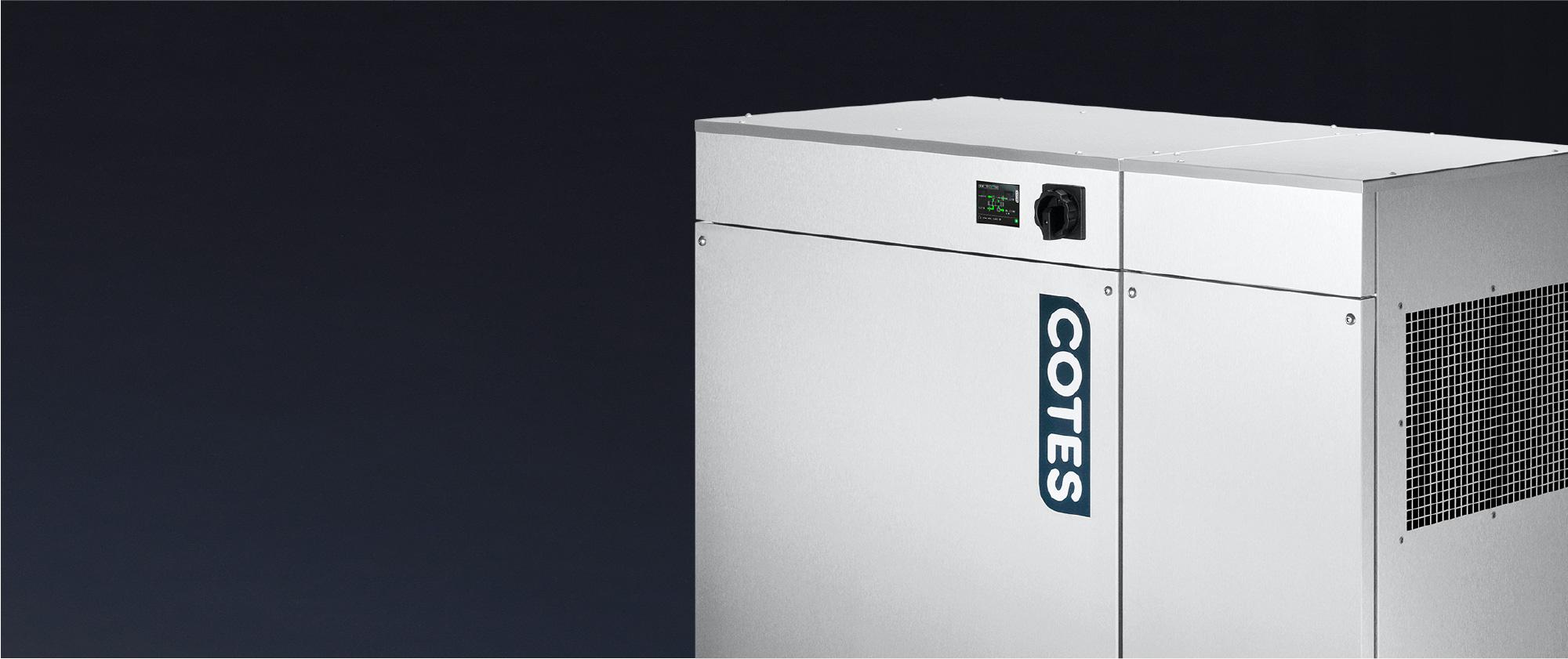 Rootoriga õhukuivati Cotes All-Round C35 soojustagasti mooduliga