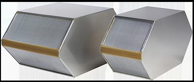 Dantherm HCV ventilatsiooniseadme alumiinium soojusvaheti